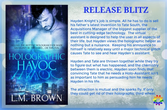 HOLOGRAPHIC HAVOC BLURB