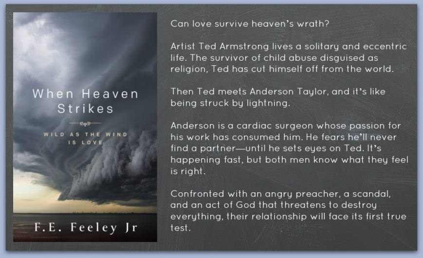 When Heaven Strikes blurb