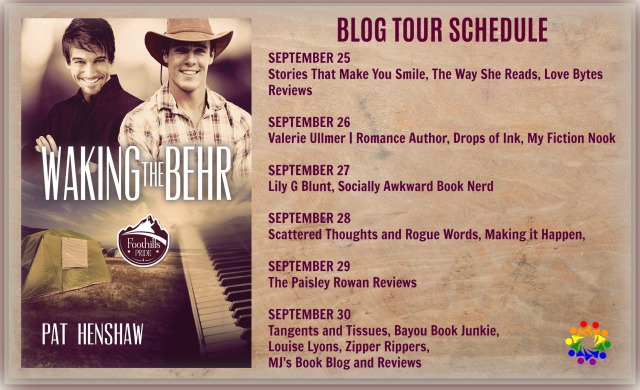 WAKING THE BEHR BLOG TOUR SCHEDULE
