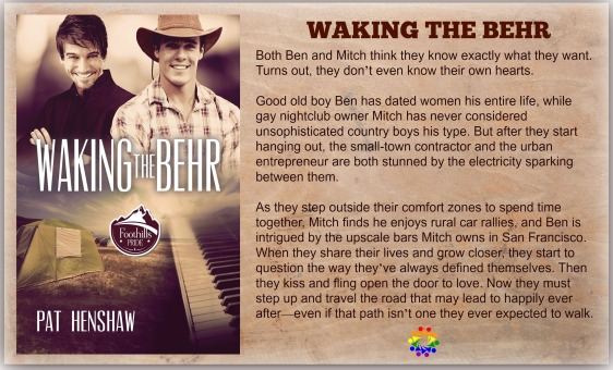 WAKING THE BEHR COVER 2