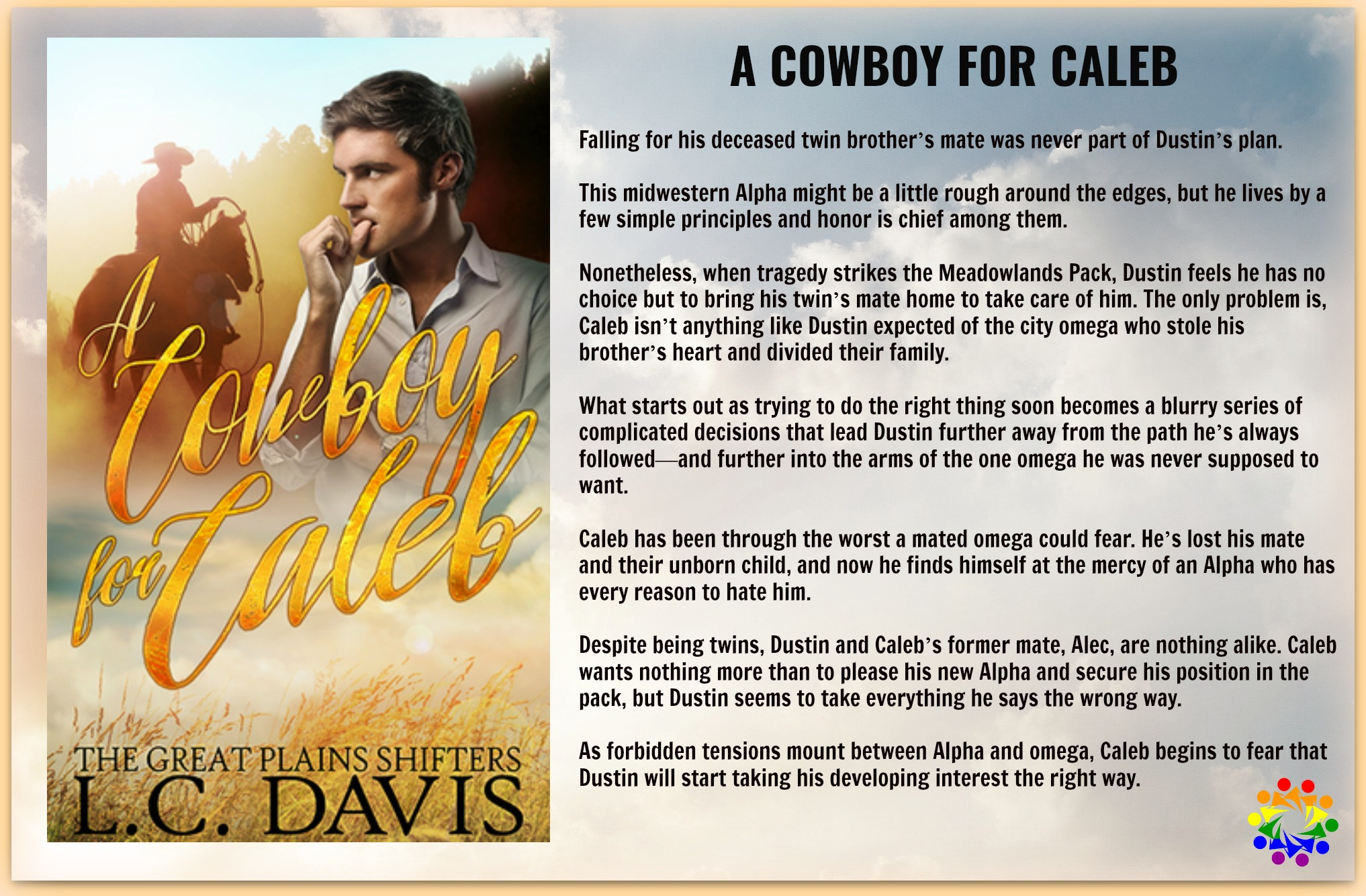 A COWBOY FOR CALEB BLURB