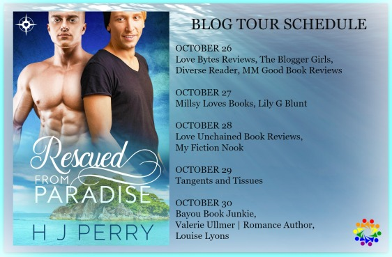 RESCUED FROM PARADISE BLOG TOUR SCHEDULE