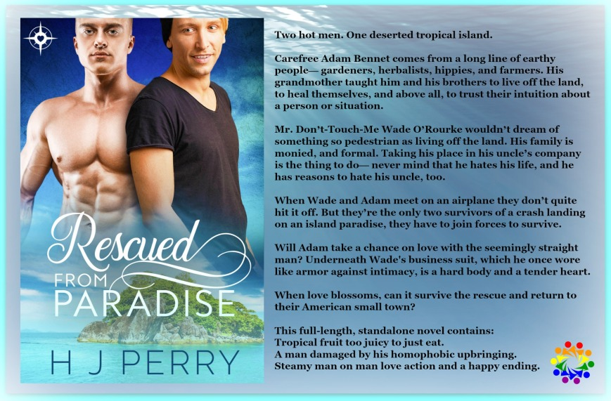 RESCUED FROM PARADISE BLURB
