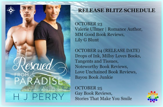 RESCUED FROM PARADISE RELEASE BLITZ SCHEDULE