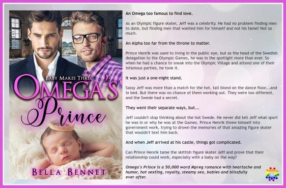 OMEGA'S PRINCE BLURB