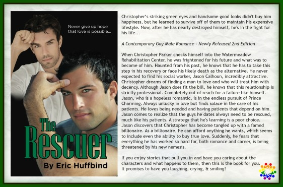 THE RESCUER BLURB