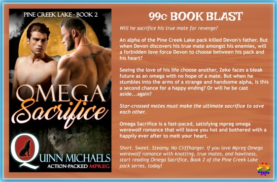 Omega Sacrifice Blurb