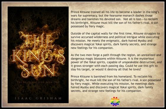 THE KING'S SUN BLURB