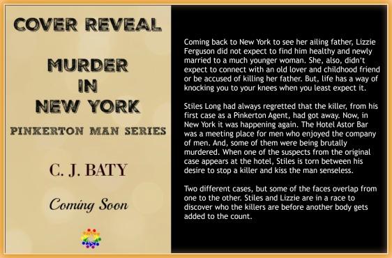 MURDER IN NY BLURB