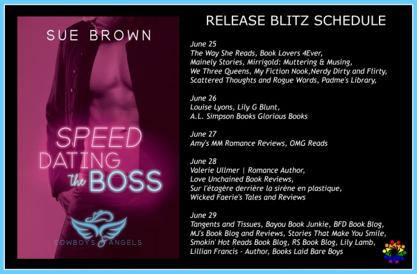 SPEED DATING THE BOSS SCHEDULE