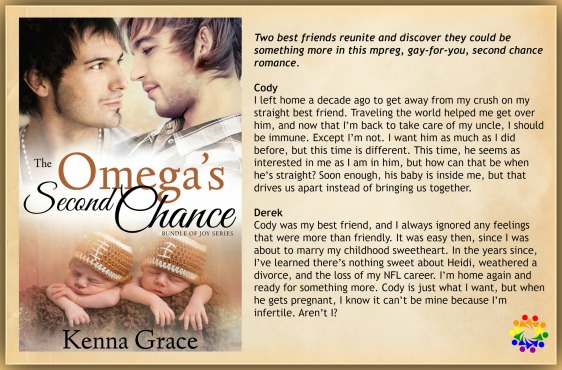 THE OMEGA'S SECOND CHANCE BLURB
