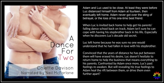 A DANCE FOR TWO BLURB