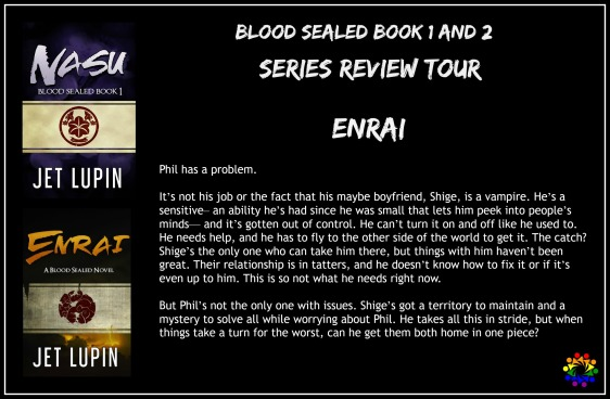 blood sealed series review tour