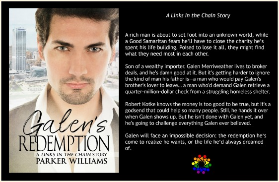 GALEN'S REDEMPTION BLURB
