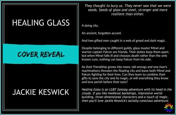 HEALING GLASS BLURB