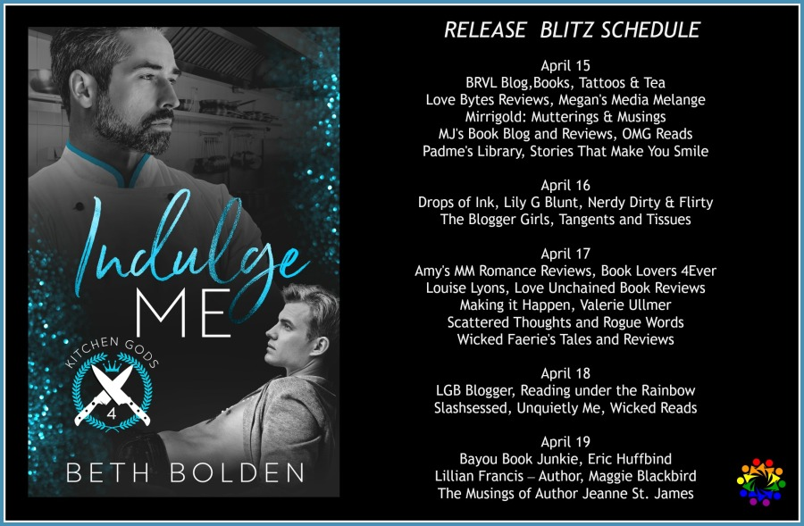 INDULGE ME SCHEDULE