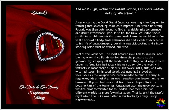 THE DUKE BLURB