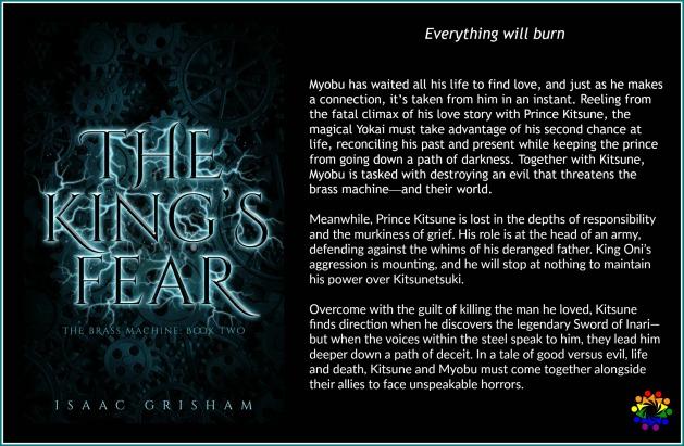 THE KING'S FEAR BLURB