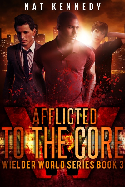 BOOK 3 Afflicted to the Core eBook Cover