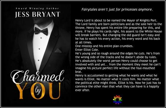 CHARMED BY YOU BLURB