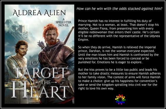 TO TARGET HIS HEART BLURB